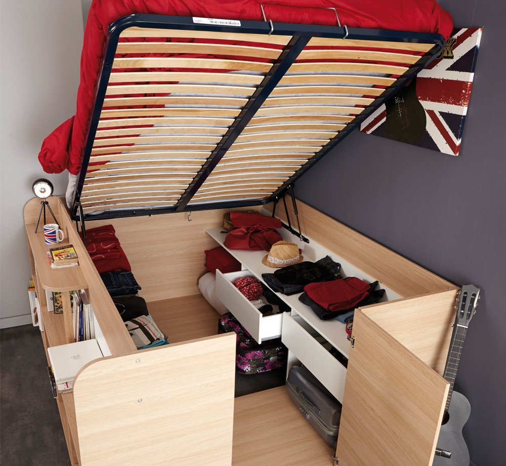 5 многофункциональных кроватей для самых маленьких пространс.